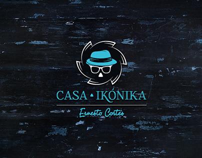 Casa Ikonika branding