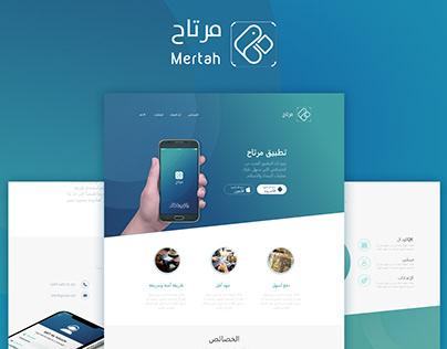 Mertah Landing Page