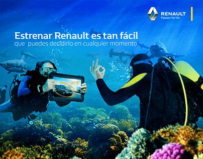 TV - Renault Colombia. Estrenar Renault es muy fácil.