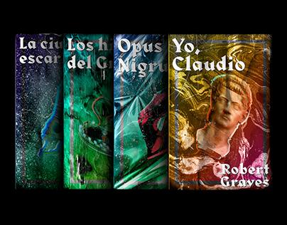 Cover design for 'El País' historical novel collection