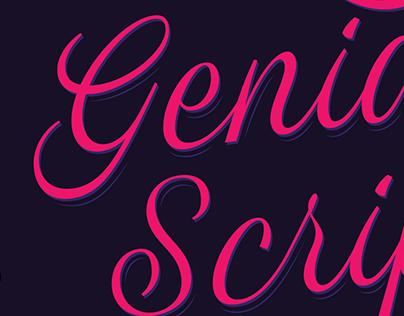 Genia Script Typeface