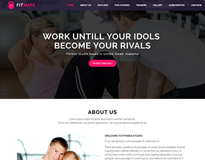 FITMATE - Fitness Studio heme