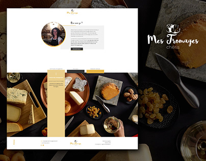 Mes fromages chéris - website