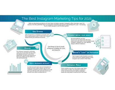 Marketing Tips for Instagram Infographics