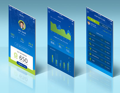 Health & Fitness Mobile App Design