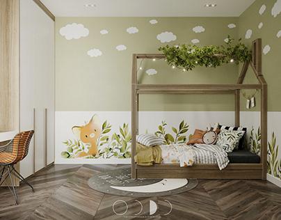Cozy Kid's Bedroom