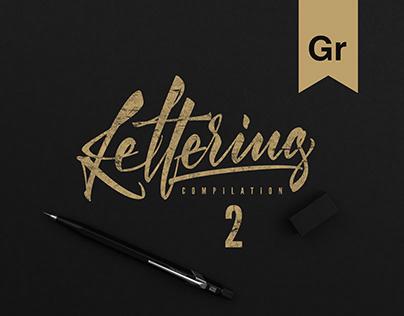 Lettering compilation #2 2K17-18