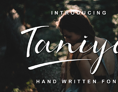 Taniya Hand Written Font