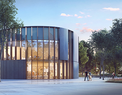Competition for the library in Szczecin //2018