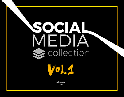 Social Media Collection • Vol.1 • By Viceadv