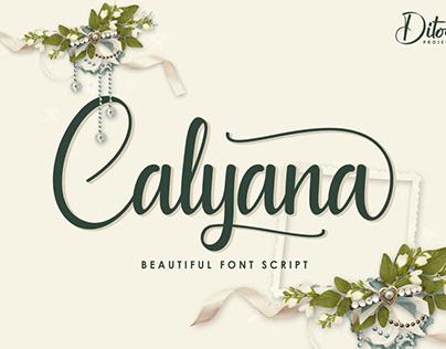 Font script project