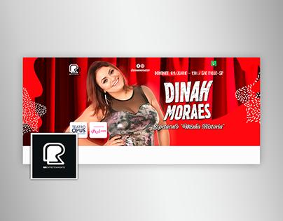 """Dinah Moraes: Espetáculo """"Minha História"""" (2019)"""
