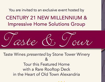 Taste & Tour - House Viewing Promotion