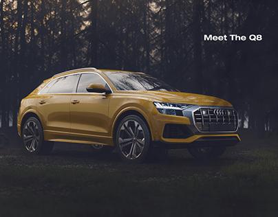 Audi Q8 CGI