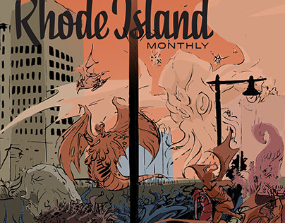 Rhode Island Monthly Magazine Cover