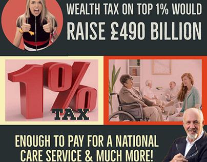 Wealth In Britain Campaign for Jon Trickett MP