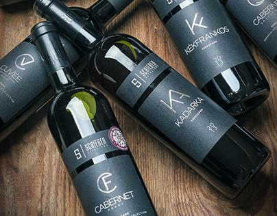 Schieber Winery's standard wines