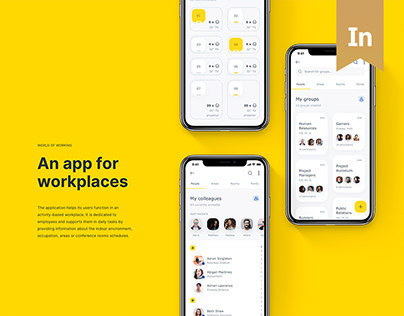 World of Working – An app for activity-based workplaces