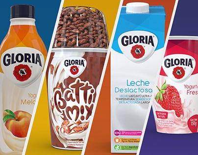 Gloria - Packaging Render