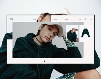 TERI. Online store.
