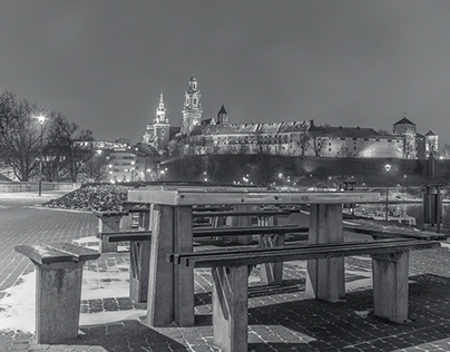 Krakow B&W