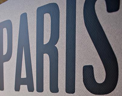 Paris une ville à lire / Paris to read