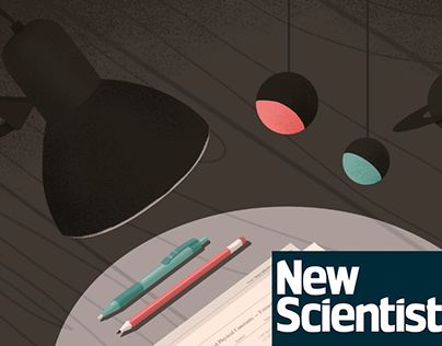 Illustration for the New Scientist