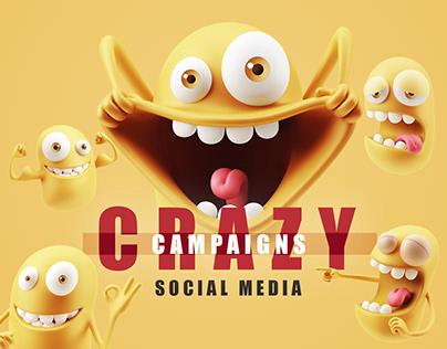 CRAZY CAMPAIGNS SOCIAL MEDIA