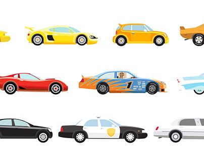 Cars - Vector Illustration