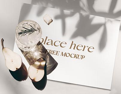 Elegant PSD Placemat mockup - FREE DOWNLOAD