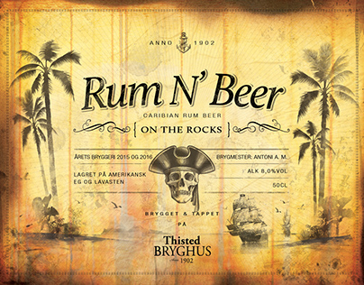 Rum N Beer is the second in a series of two