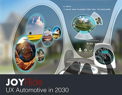 Project Management Automotive UX Design | 2017
