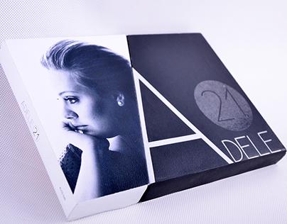 Adele 21 Music Album Design