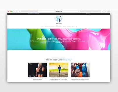 Rik Fitness Web Design