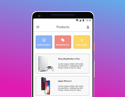 Products UI