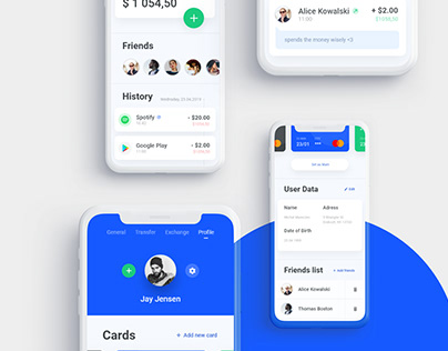 Wallet app - UI Design