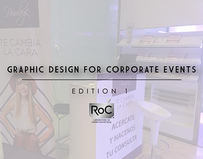 GRAPHIC DESIGN FOR CORPORATE EVENTS - EDITION 1 - ROC
