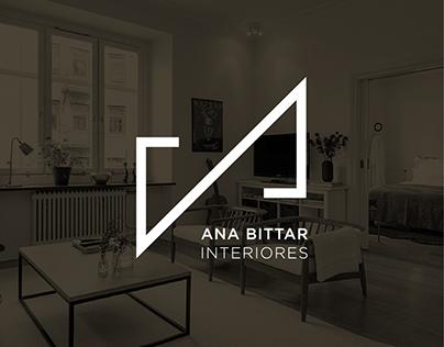 Identidade Visual Ana Bittar Interiores