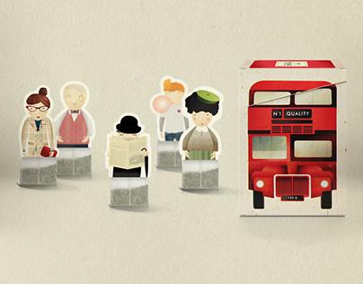 English Tea Bus (created by NOBO design)