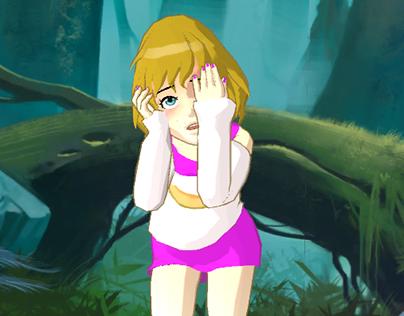 URI - Virtual girl