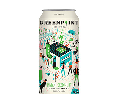 Greenpoint Beer & Ale Instant Credibility IPA