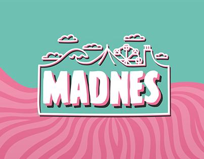 MADNES festival branding