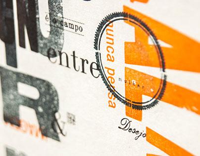 COLAPSO & Tipografia Matias