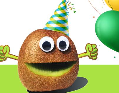 Kiwifruit Birthday Promotion