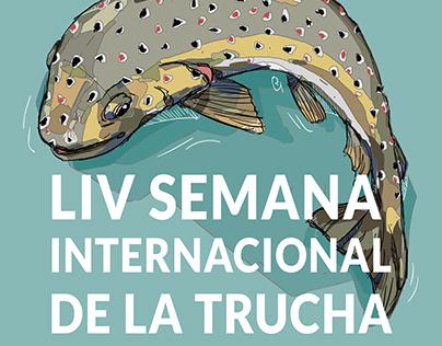 Cartel LIV Semana Internacional de la Trucha