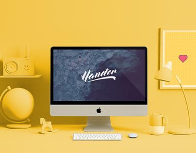 Hander - Web Design