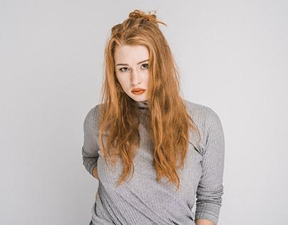 Studio shoot with Vanessa