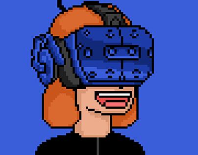 Twitter Profile Pic in Pixel Art Style