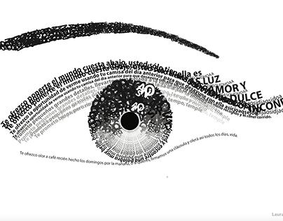 Textura aplicada a la ilustración.