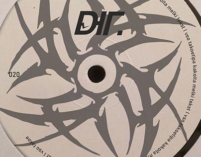 ЮГ. vinyl record design